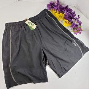 Tasc Performance Black Running Shorts, New